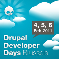 Drupal Developer Days Brussels 2011